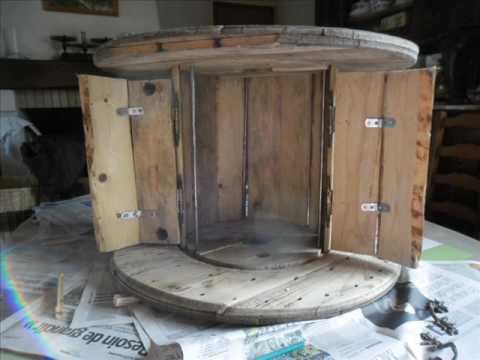 enrouleur cable table basse youtube. Black Bedroom Furniture Sets. Home Design Ideas