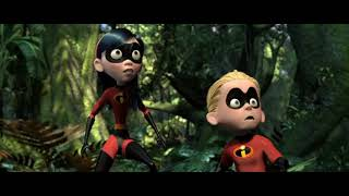 incredibles(2004) | forest fight | tamil dubbed | movie scene