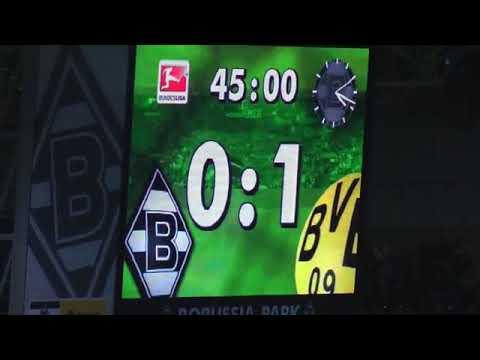 Gladbach - BVB 1-1 Stimmung Fans Teil 2  Borussia Mönchengladbach vs Borussia Dortmund Video