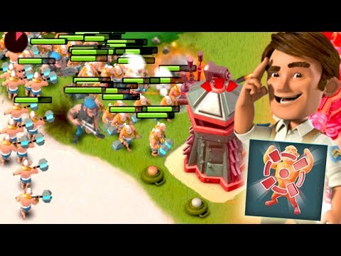 Boom Beach Taunt with Warriors!? Will Private Bullit Work?