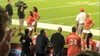 NBC Sunday Night Football Intro with Faith Hill (January 3, 2010 Bengals vs. Jets) 720p HD Hank Williams Jr. performs the opening sequence to ESPN's