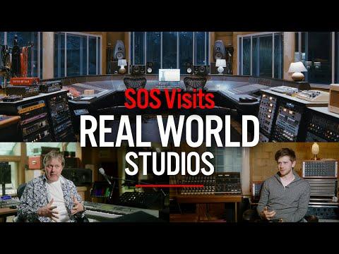 SOS visits Real World Studios