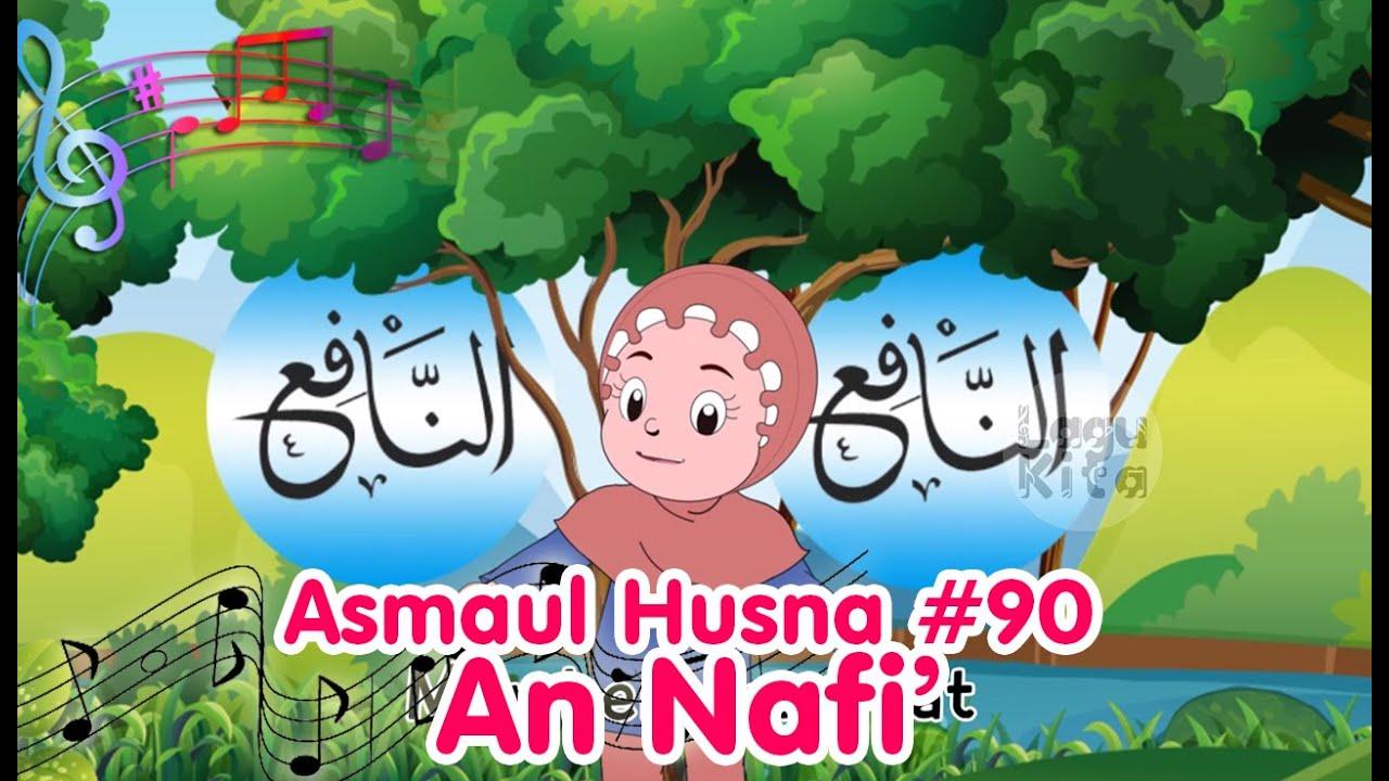 ASMAUL HUSNA 90 - AN NAFI'   Diva Bernyanyi   Lagu Kita