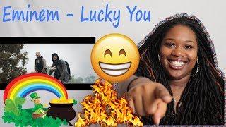 😱🔥 Mom reacts to Eminem - Lucky You ft. Joyner Lucas | Reaction