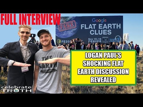 LOGAN PAUL TALKS to Robbie Davidson about FLAT EARTH - Exclusive Interview