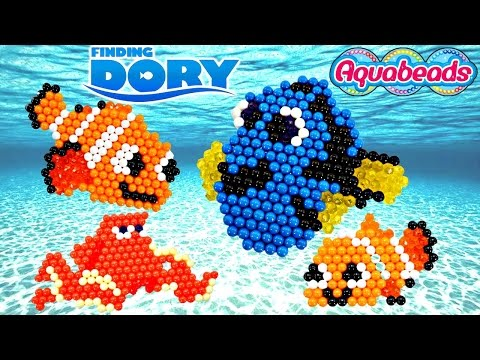 Thumbnail: Disney Pixar FINDING DORY Aquabeads * Making Crafts with Amy Jo on DCTC