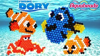 Disney Pixar FINDING DORY Aquabeads * Making Crafts with Amy Jo on DCTC