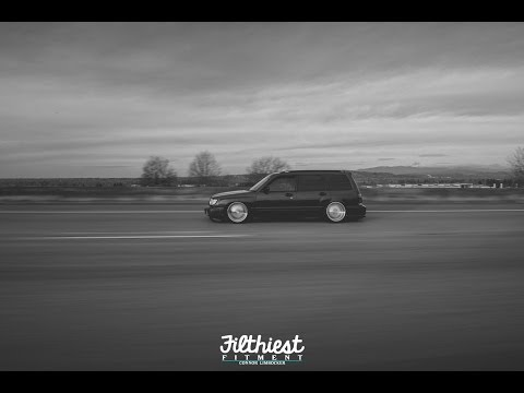 Robbie Erickson's Stanced Forester | Filthiest Fitment