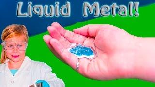 ASSISTANT Science Experiment LIQUID METAL Gallium Fun Learning Science STEM Video