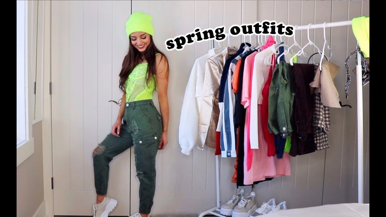 SPRING OUTFITS 2019 | BooHoo 1