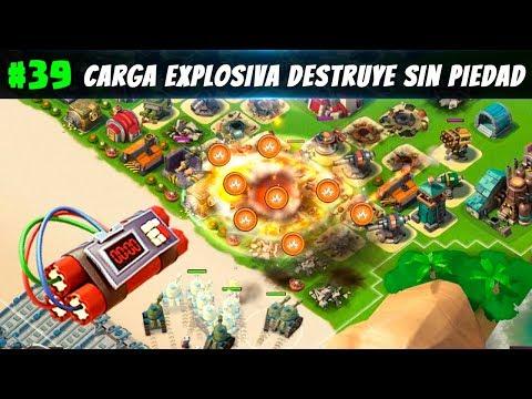 Carga Explosiva destruye sin piedad   Boom Beach Español