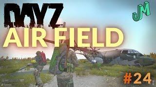 DayZ 🎒 AIR FIELD Xbox One X - Stream 24