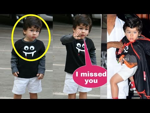 Taimur Ali Khan shows epic sad reaction on missing media and fans for so manu days |
