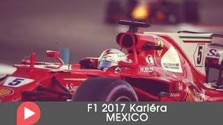F1 2017 kariéra MEXICO