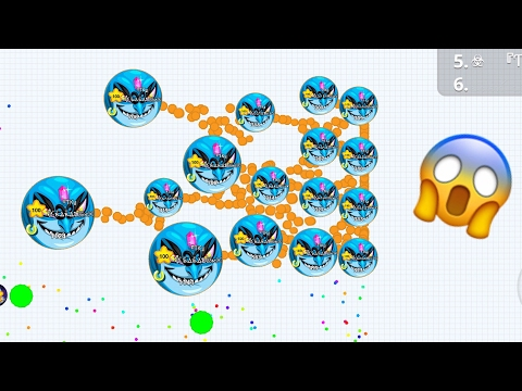 AGAR.IO MOBILE MACRO FEED IOS + TROLL PEOPLE IN AGARIO HACK