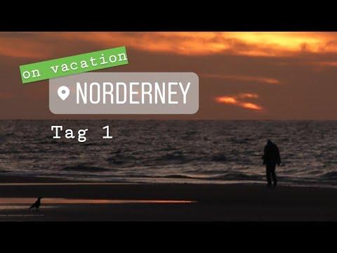 Tag 1 Auf Norderney - Überfahrt, Einchecken Und Ab An Den Strand!