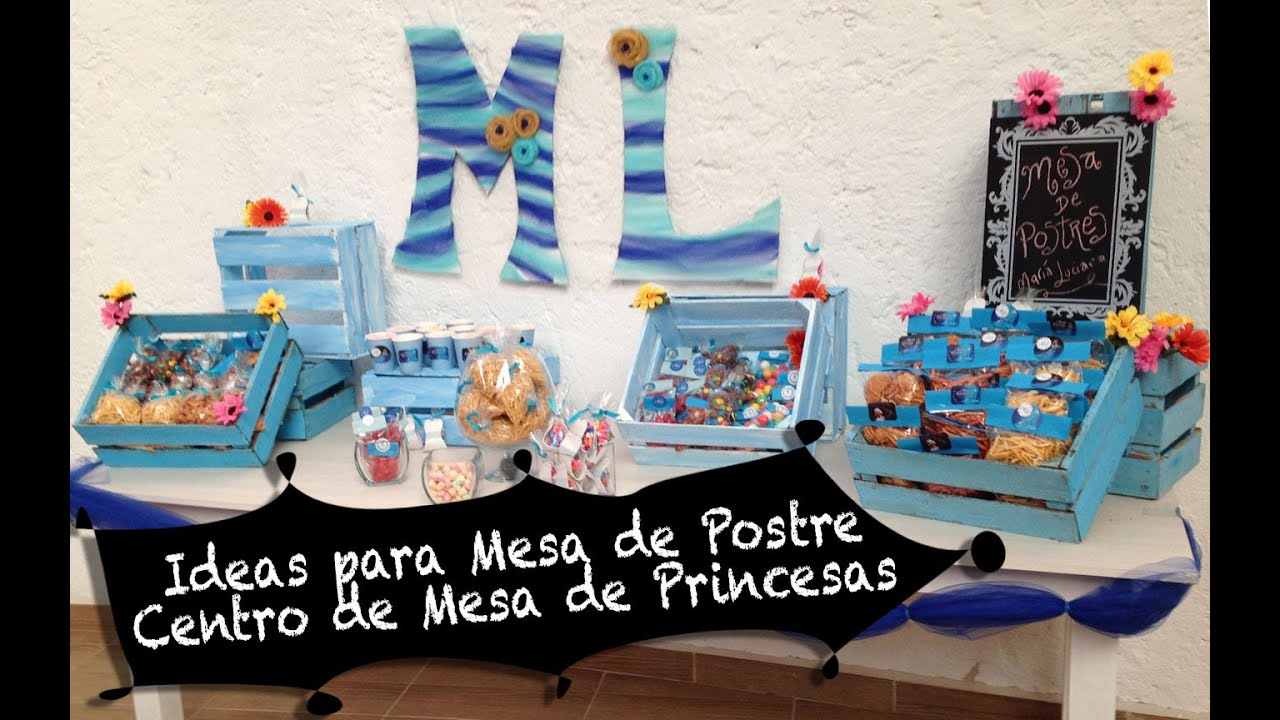 Como Decorar Kekitos Ideas Para Fiesta De Princesas Chuladas Creativas Youtube