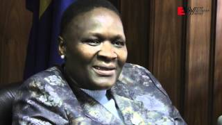 EWN's Mandy Wiener interviewed National Police Commissioner General Riah Phiyega about wide ranging issues in the South African Police Service.