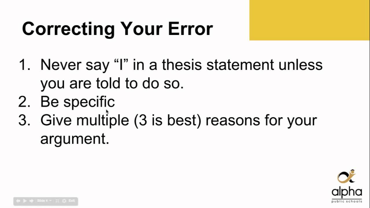 Team Work Essay Weak Thesis Statements Good College Essays also Usa Essay Weak Thesis Statements  Youtube Fast Food Persuasive Essay