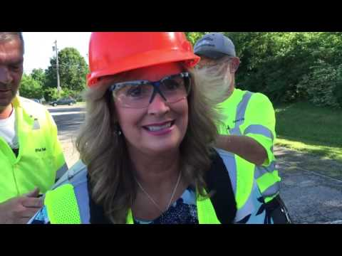 Volunteer State Community College Employee Tries Out a Public Works Job