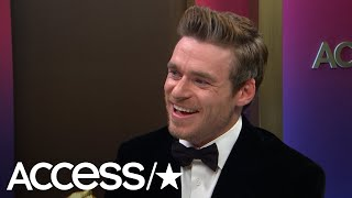 Richard Madden Can't Wait To Give His Parents A Big Hug Following His 2019 Golden Globes Win