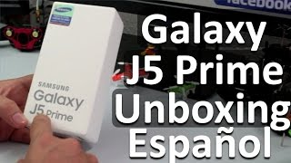 Samsung Galaxy J5 Prime Español Unboxing - Características y Especificaciones