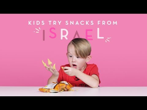 Kids Try Israeli Snacks