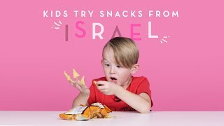 Kids Try Snacks from Israel | Kids Try | HiHo Kids