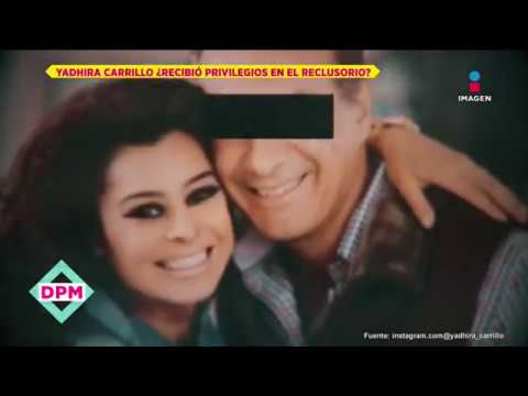 ¿Esposo de Yadhira Carrillo tiene privilegios dentro del Reclusorio?  De Primera Mano