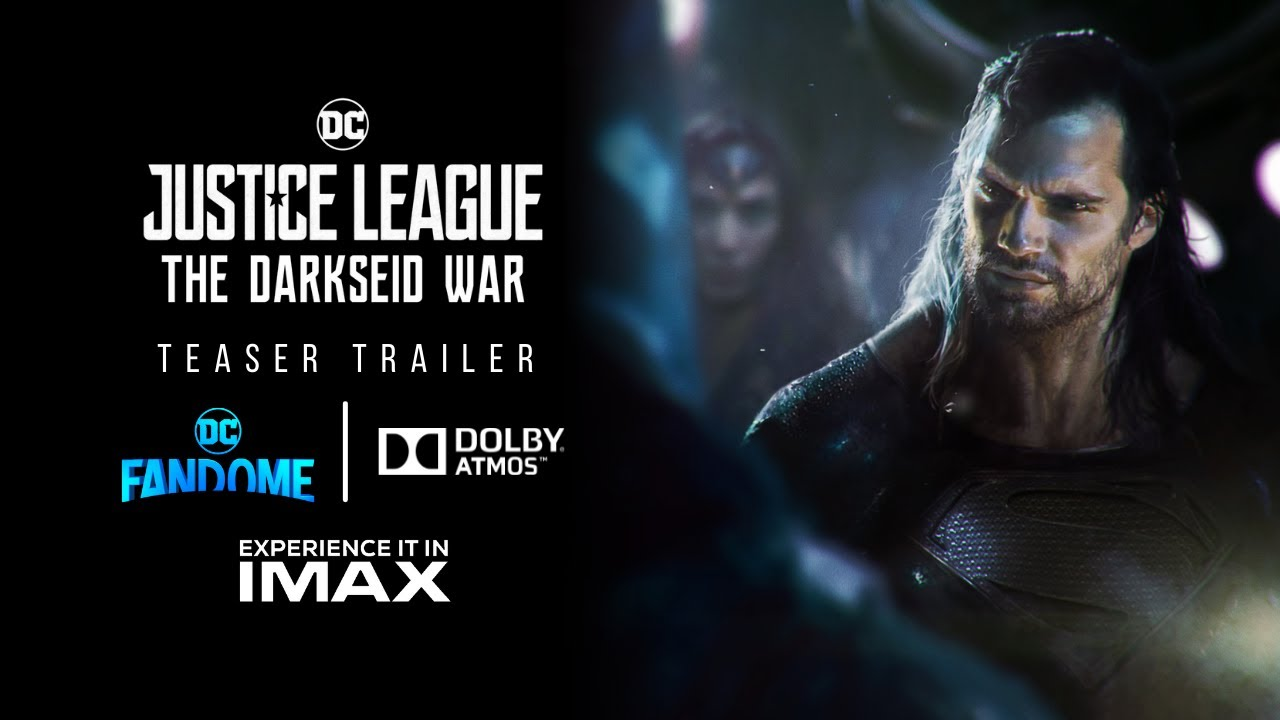 JUSTICE LEAGUE 2: THE DARKSEID WAR   Teaser Trailer   Snyder Cut   HBO Max   DC Fandome 2021