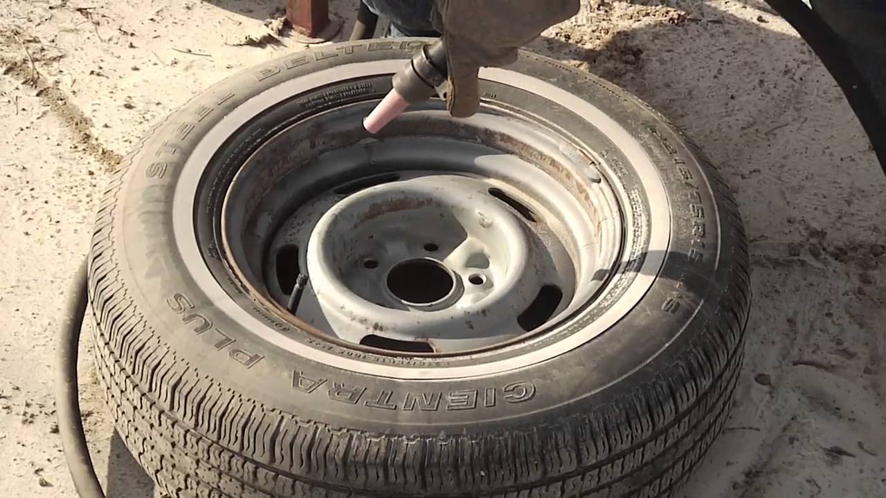 How To Sandblast A Car Wheel