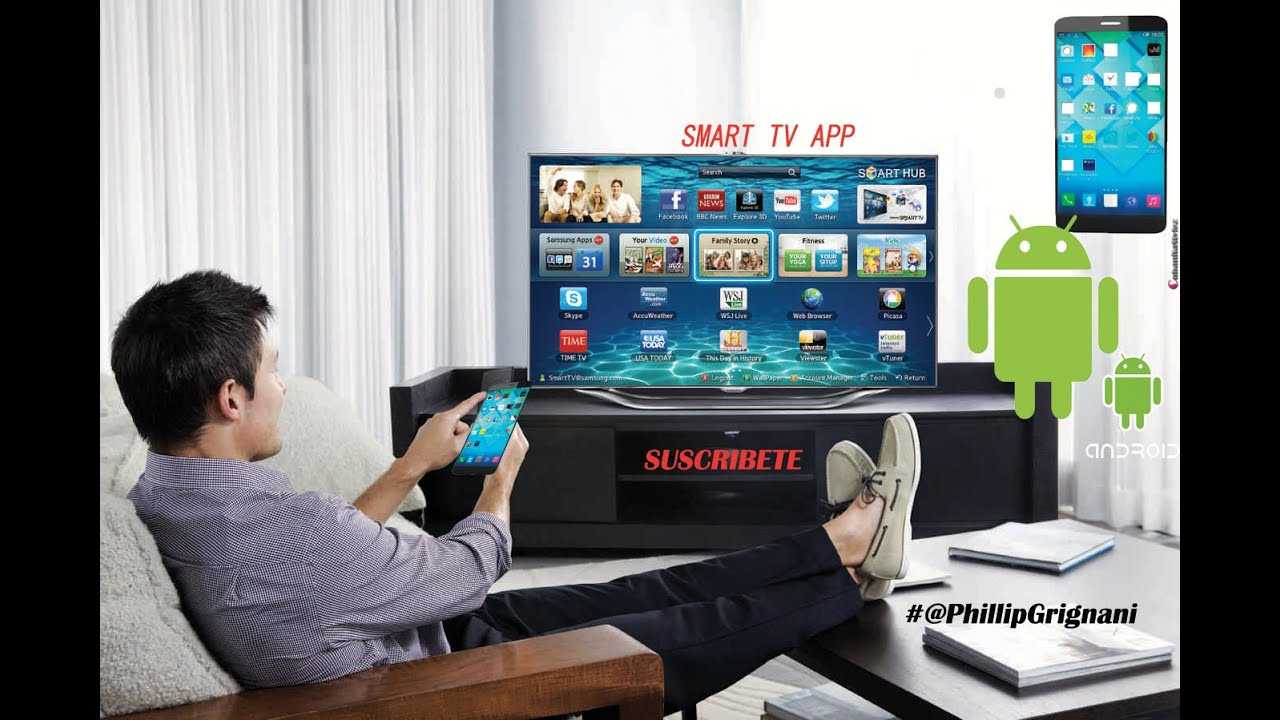 Sincronizar tu android con tu smart tv para ver videos de Sillas comodas para ver television