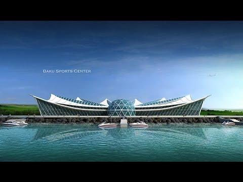 Baku Sports Centre by Azer Adiloglu