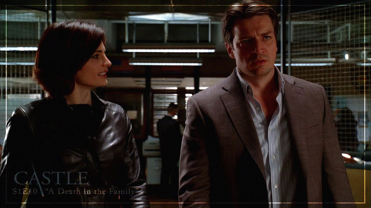 Download Castle 1x10: A Death in the Family    Beckett Seeks Out Her Source  [1080p HD/CC]