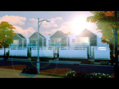 SZEREGÓWKA W 4 STYLACH - The Sims 4 SPEED BUILD thumbnail