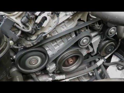 BMW N46 Keilriemen Riemenspanner Tausch