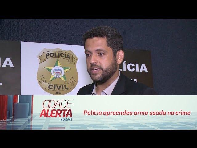 Caso Joyce: polícia apreendeu arma usada no crime