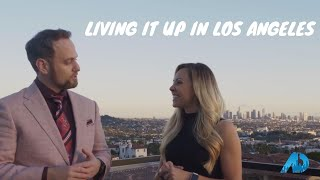 Living It Up In Los Angeles - Scott Goshorn - The American Dream TV