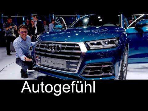 All-new Audi Q5 first look Exterior/Interior Preview Paris Motor Show  - Autogefühl
