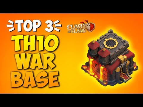 TOP 3 BEST NEW TH10 WAR BASE 2019! *WITH LINK* COC Town Hall 10 Anti 2 Star - Clash Of Clan [Part 4]
