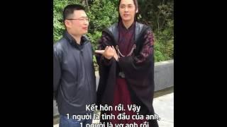 Tiêu Đỉnh và Lý Dịch Phong nói về Tuyết Kỳ & Bích Dao trong Tru Tiên