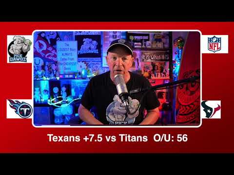 Houston Texans vs Tennessee Titans 1/3/21 NFL Pick and Prediction Sunday Week 17 NFL