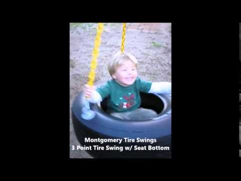 3 Point Tire Swing with Seat Bottom -