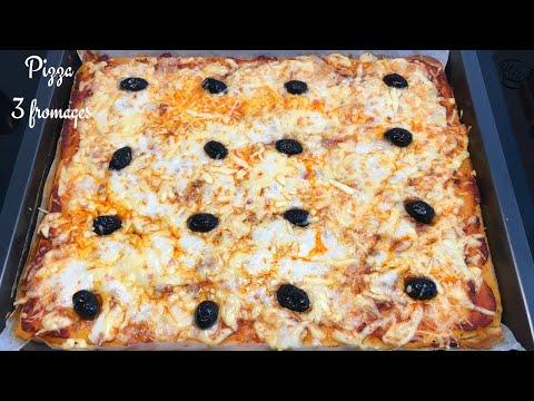 pizza-pÂte-liquide-aux-3-fromages---recette-facile
