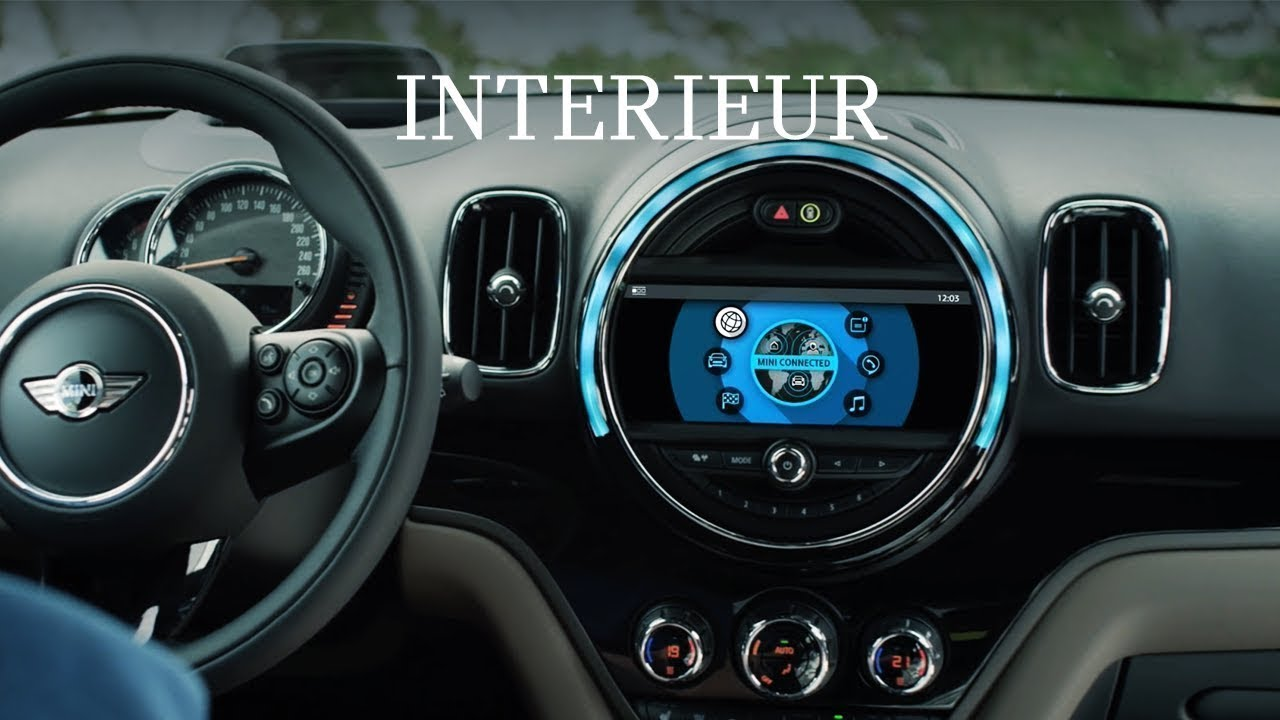 mini countryman interieur