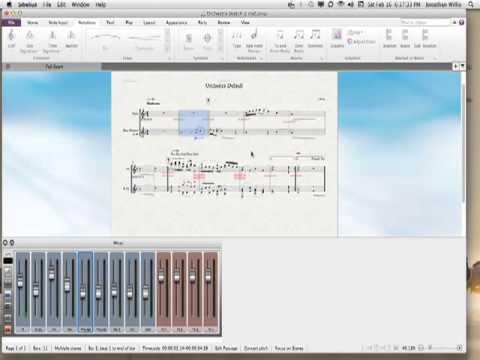 Sibelius Notation: Repeats Endings and Muting Parts