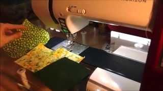DIY: Patchworkmuster Schleife (BowTie)