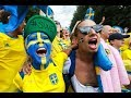 Sweden v Switzerland: Fans in Russia watch knockout World Cup game – live