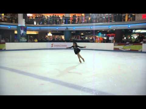 Aina Sorfina (Advanced Novice - SP) 7th Malaysia National Figure Skating