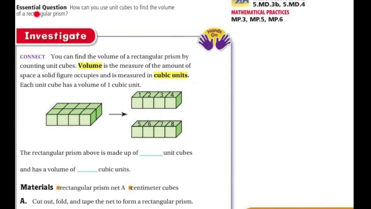5th Grade Go Math 11.6 - YouTube